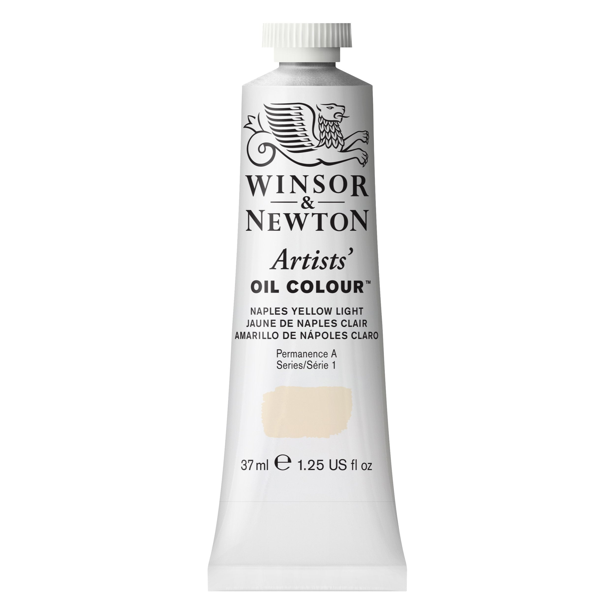 Winsor & Newton Artists' Oil Color, 37ml, Naples Yellow Light