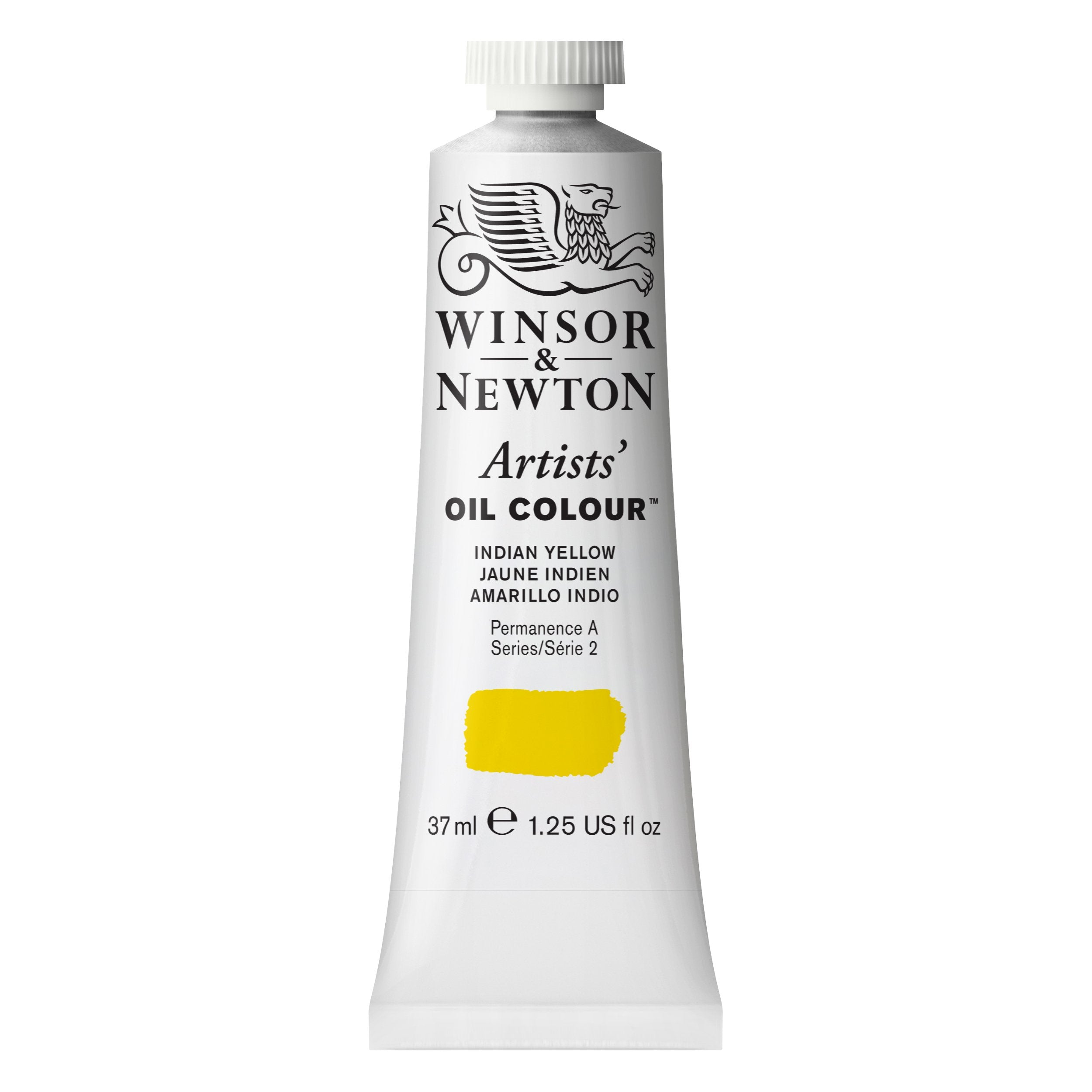 Winsor & Newton Artists Oil Color, 37ml, Indian Yellow