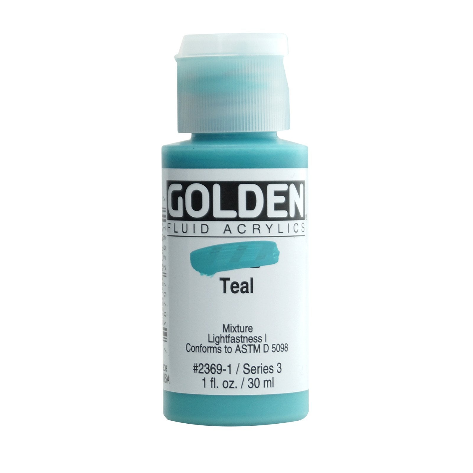 Golden® Fluid Acrylic, 1 oz., Teal