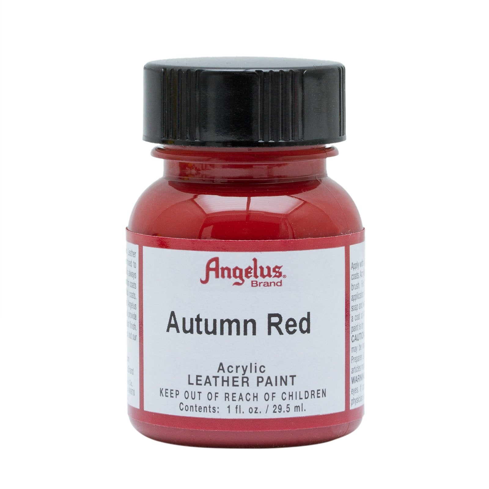 Angelus® Acrylic Leather Paint, 1 oz., Autumn Red