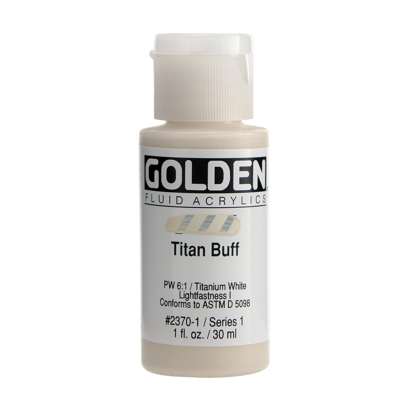 Golden® Fluid Acrylic, 1 oz., Titan Buff