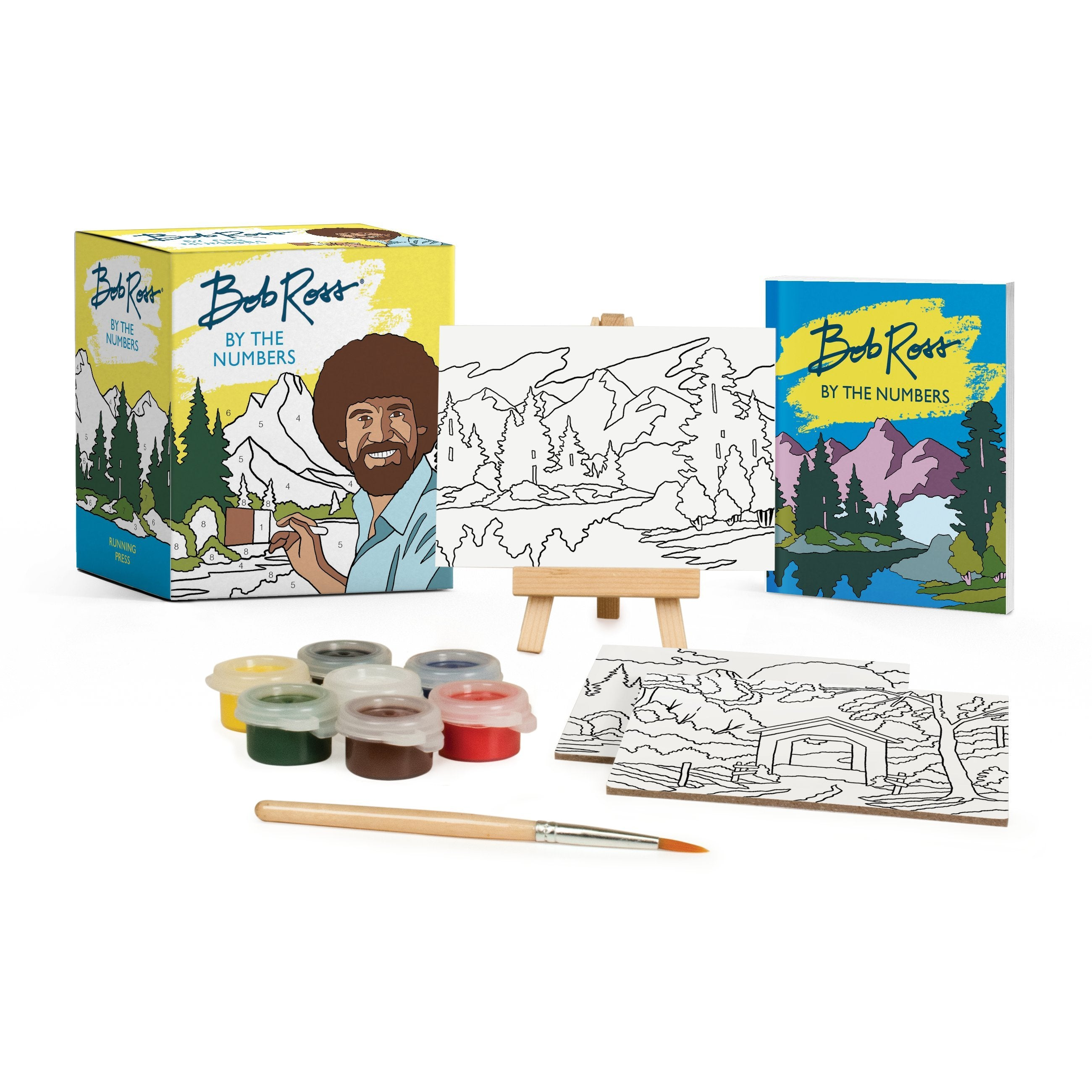 BOB ROSS BY NUMBERS KIT