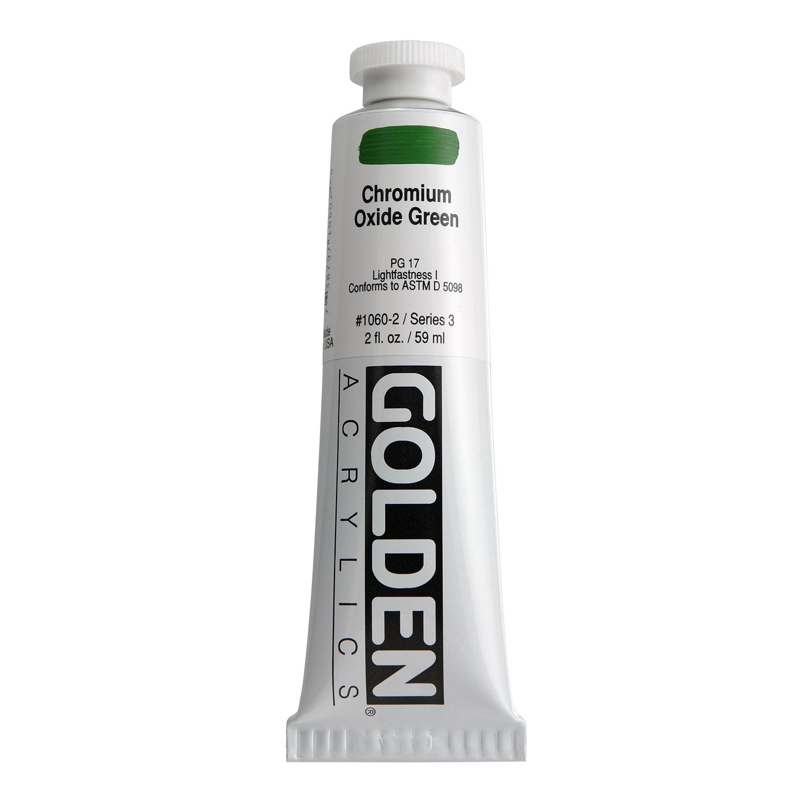 Golden®Heavy Body Acrylics, 2oz., Chromium Oxide Green