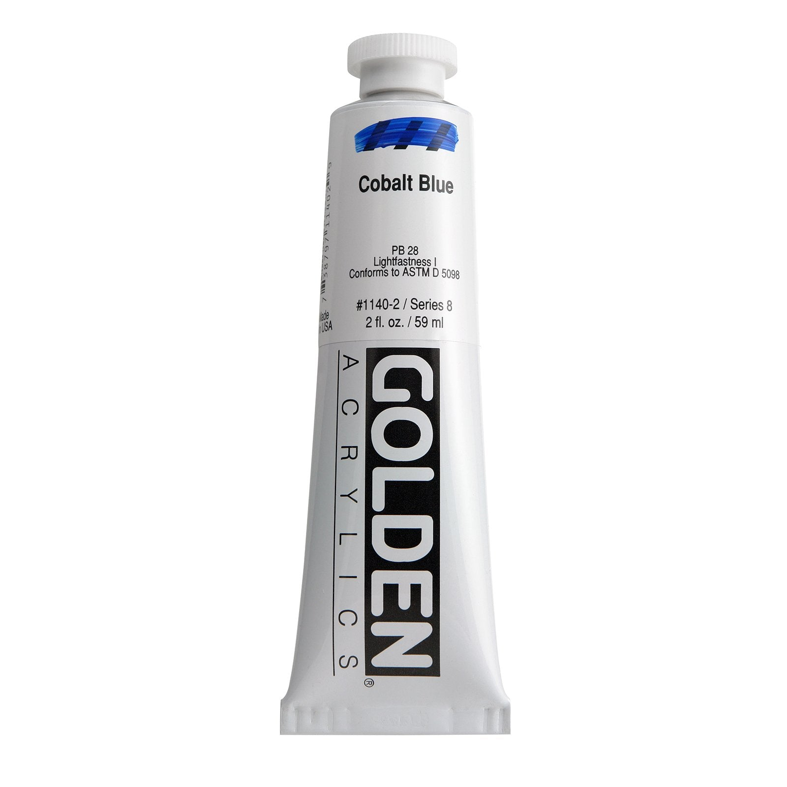 Golden®Heavy Body Acrylics, 2oz., Cobalt Blue