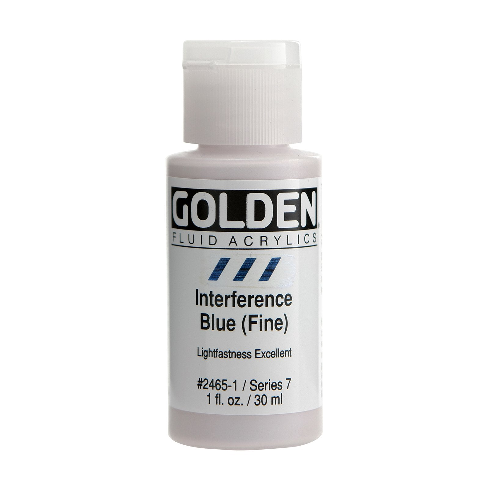 Golden® Fluid Interference Acrylic, 1 oz., Interference Blue Fine