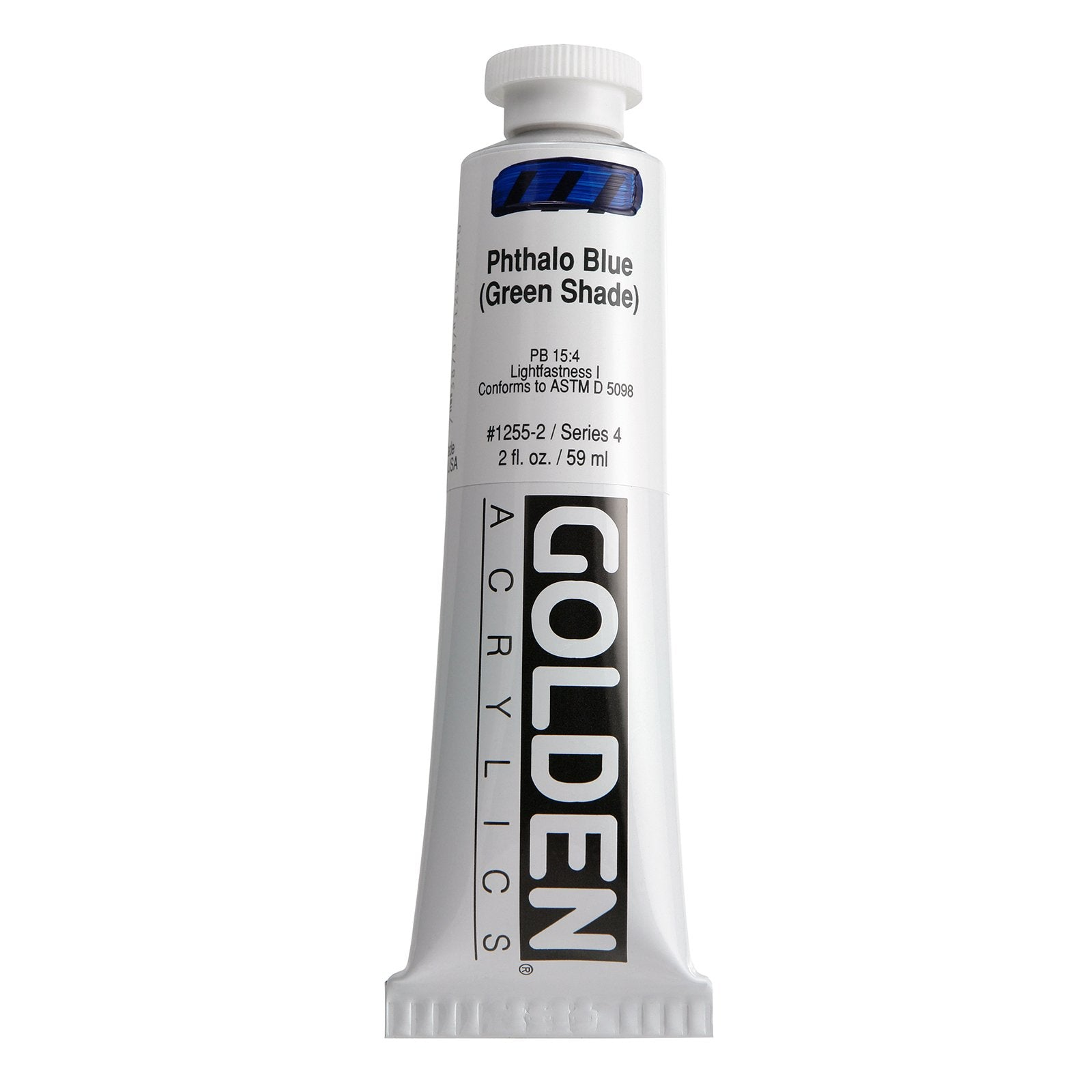Golden® Heavy Body Acrylic, 2 oz., Phthalo Blue/ Green Shade