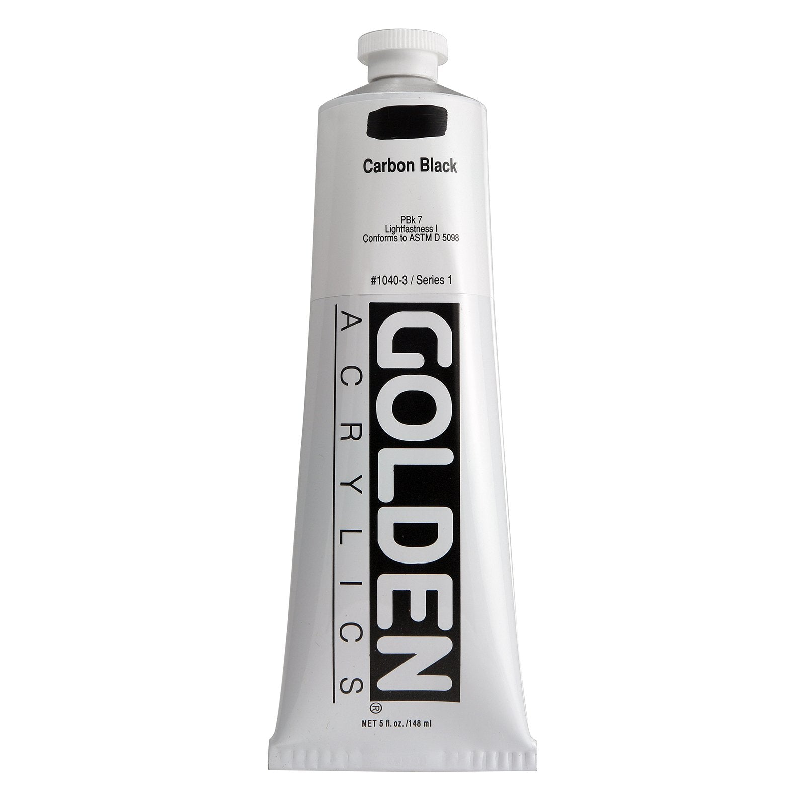 Golden®Heavy Body Acrylics, 5oz., Carbon Black