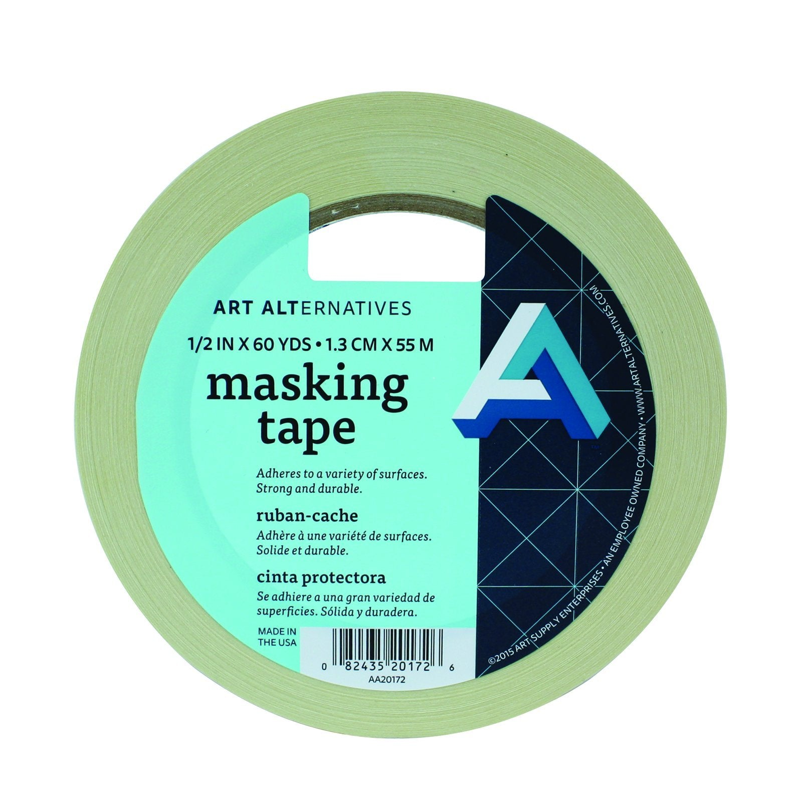"Art Alternatives Masking Tape 1/2"" x 60 yds."