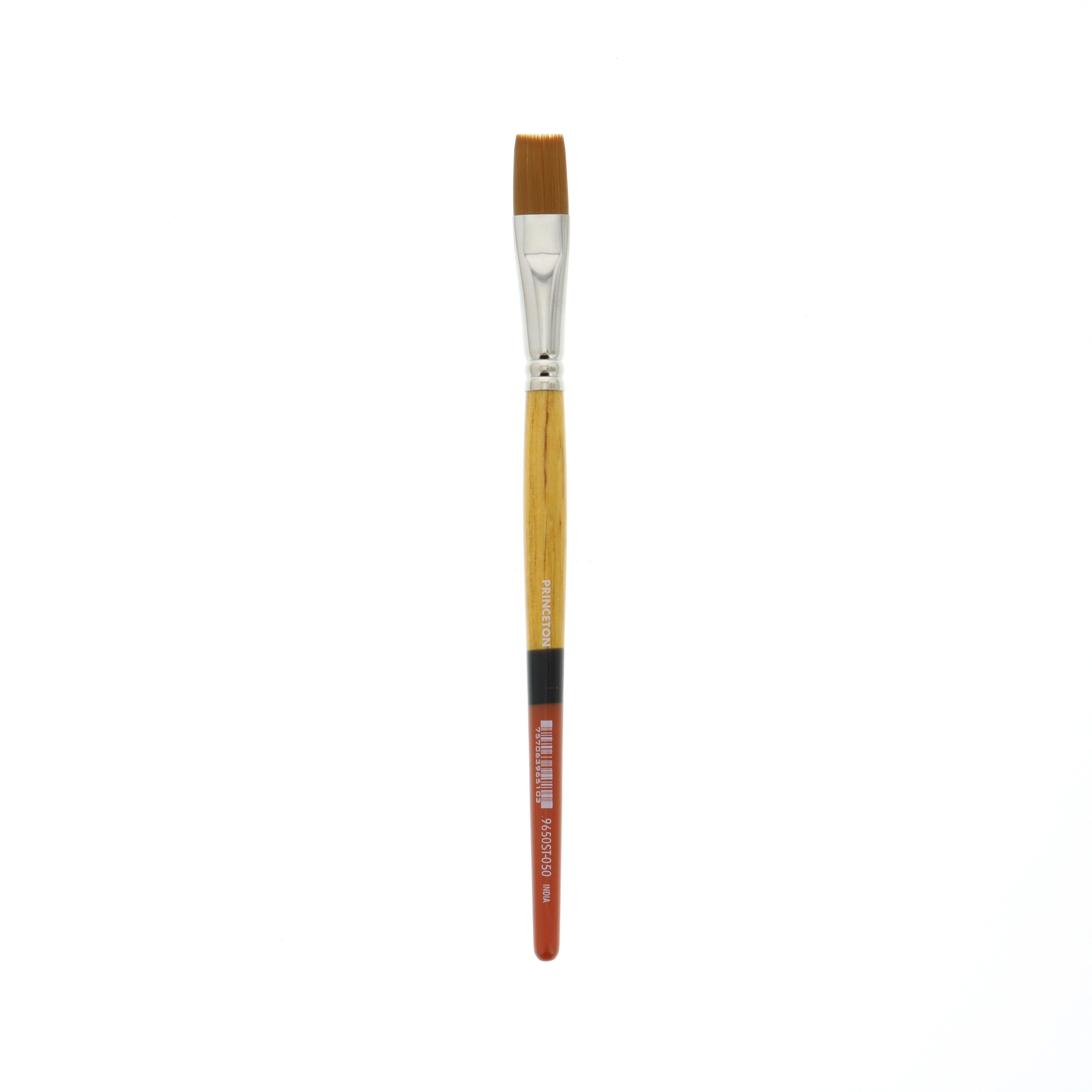 Princeton Brush Snap Gold Taklon Brush, Stroke 1/2""