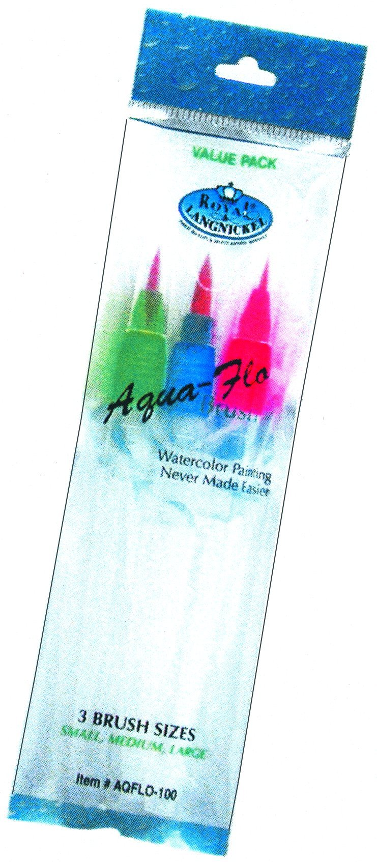 AQUA FLO 3/PK BRUSH SET