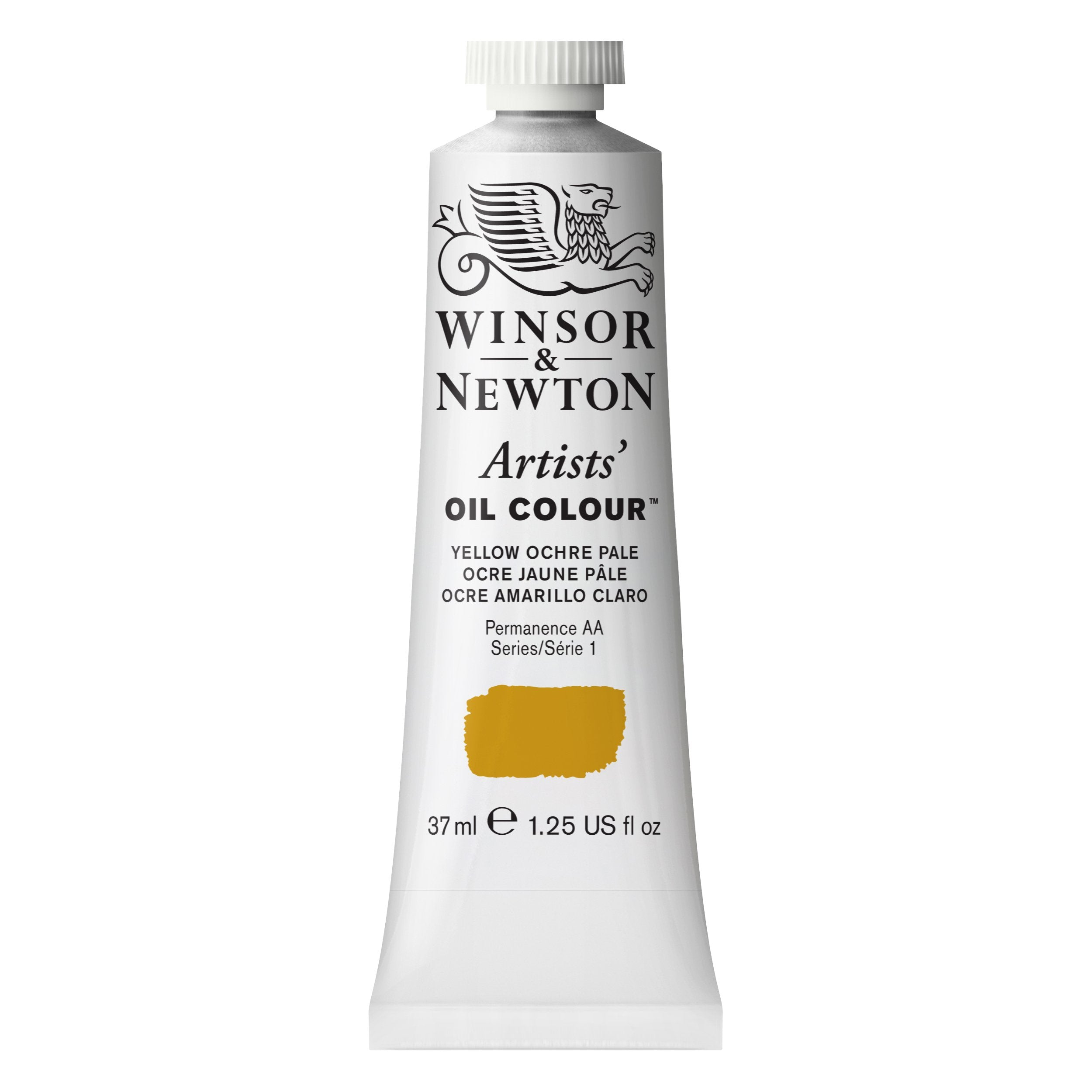 Winsor & Newton Artists Oil Color, 37ml, Yellow Ochre Pale
