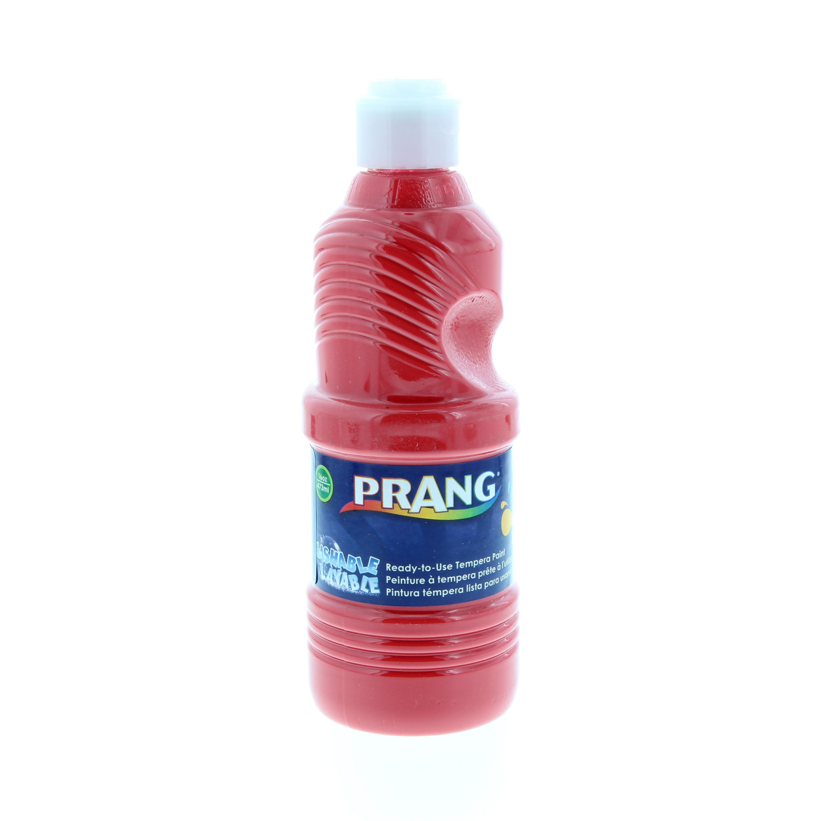Prang Washable Ready-to-Use Tempera Paint, 16oz., Red