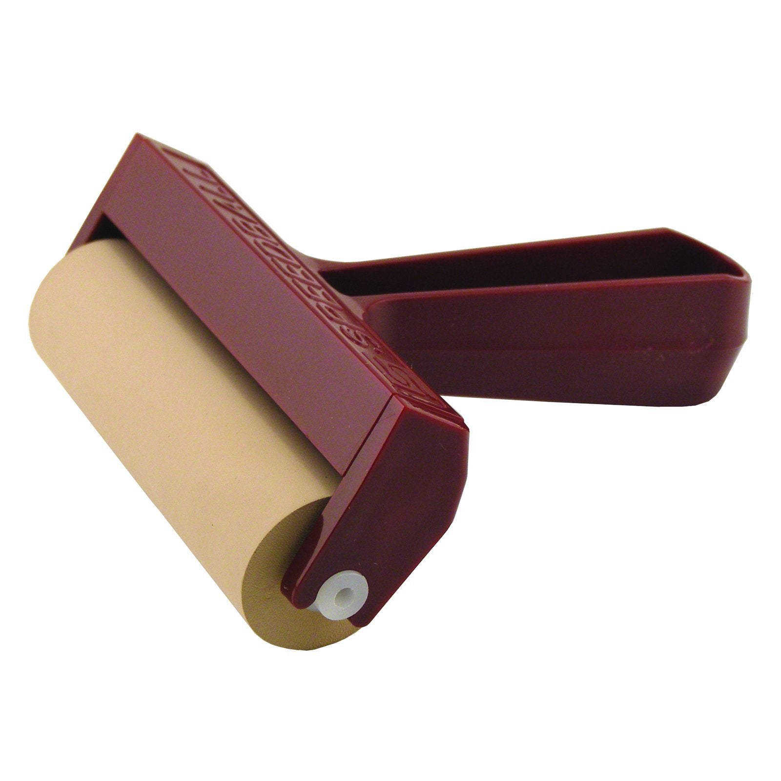 "Speedball 4"" Brayer with Pop-In Roller, Soft Rubber"