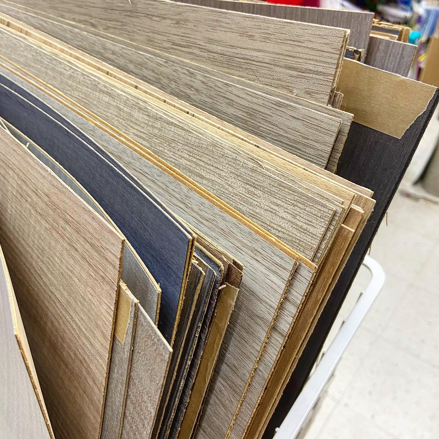 Wood laminated composite boards (size)