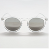 BLAKE SUNGLASSES, Clear & mirrored