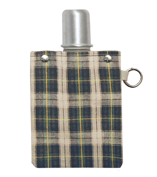 Canvas Canteen - Plaid - Flask