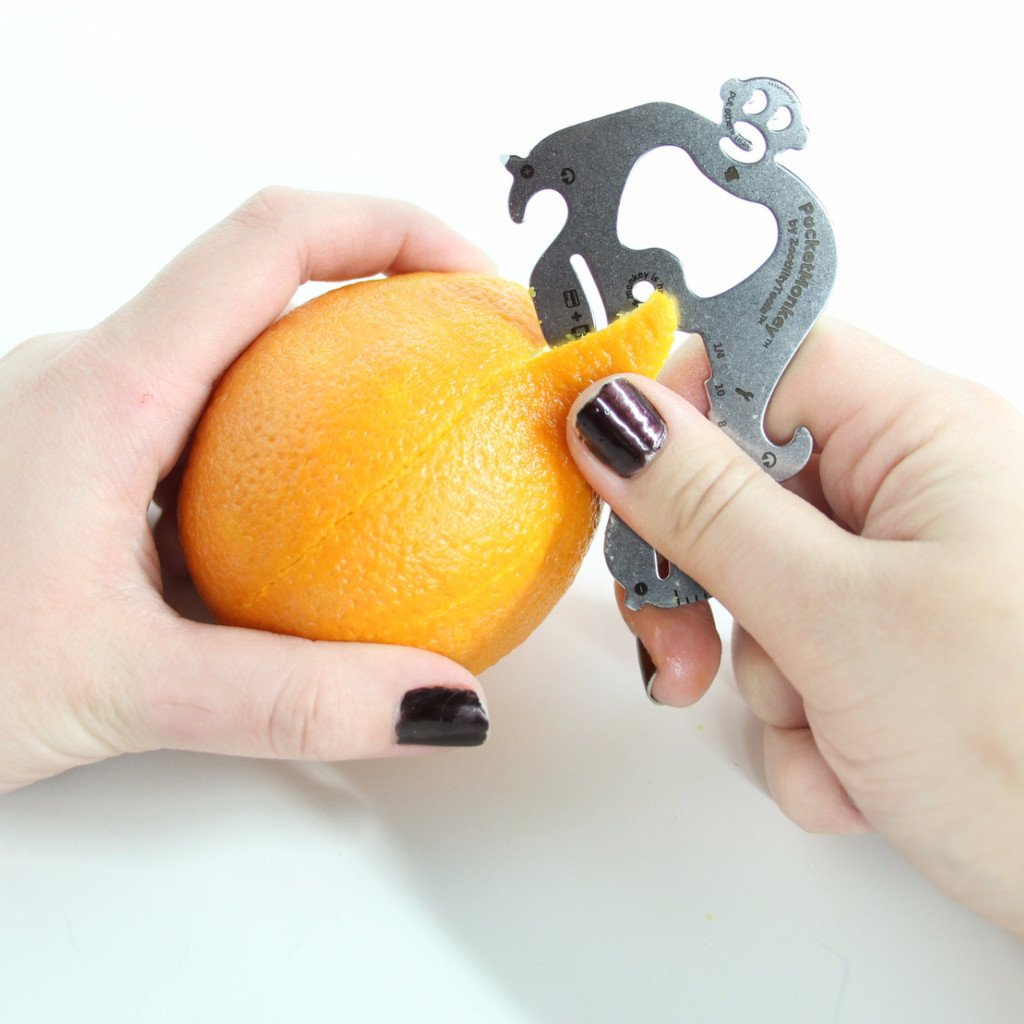 Pocket Monkey Multi-Tool - Peel an Orange
