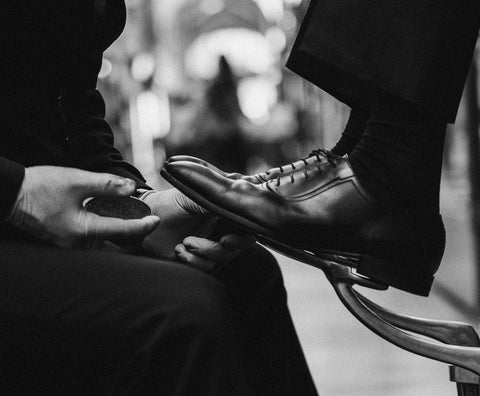 shoe shine london