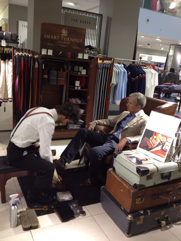 Shoe Shine Service for John Lewis