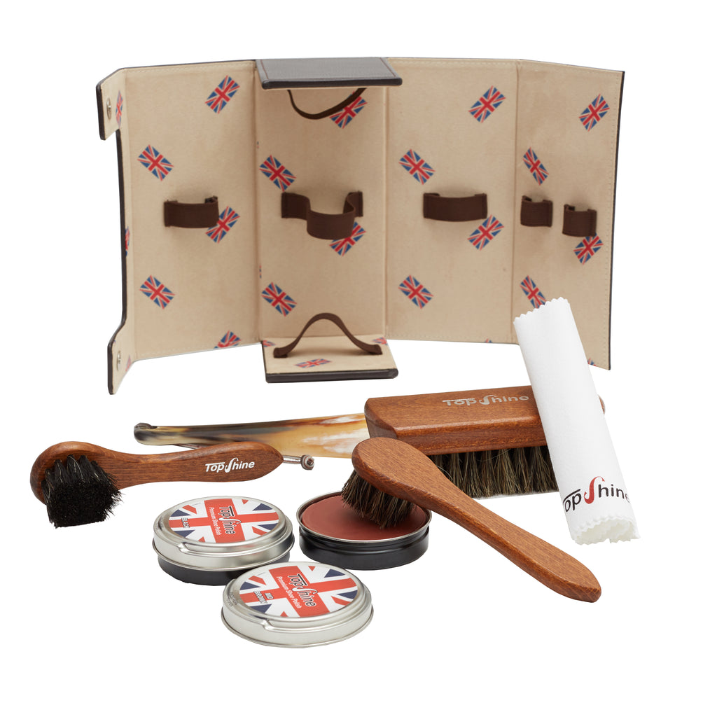 Kiwi Shoe shine kit
