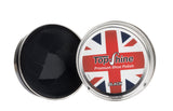Black shoe polish, High shine shoe polish, parade gloss black shoe polish, black polish beeswax, waterproof shoe polish