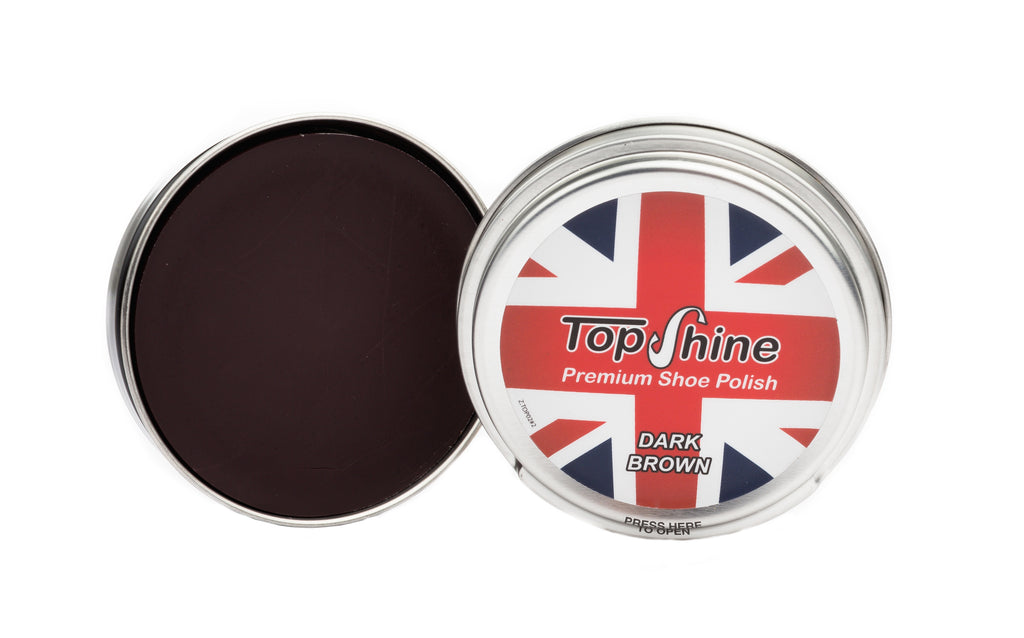 Dark brown shoe polish. dark tan beeswax, dark brown beeswax, waterproof shoe polish