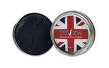 Navy shoe polish, blue shoe polish, navy beeswax, waterproof shoe polish