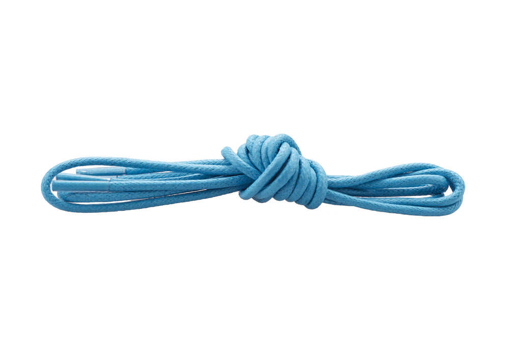 Light blue shoe laces