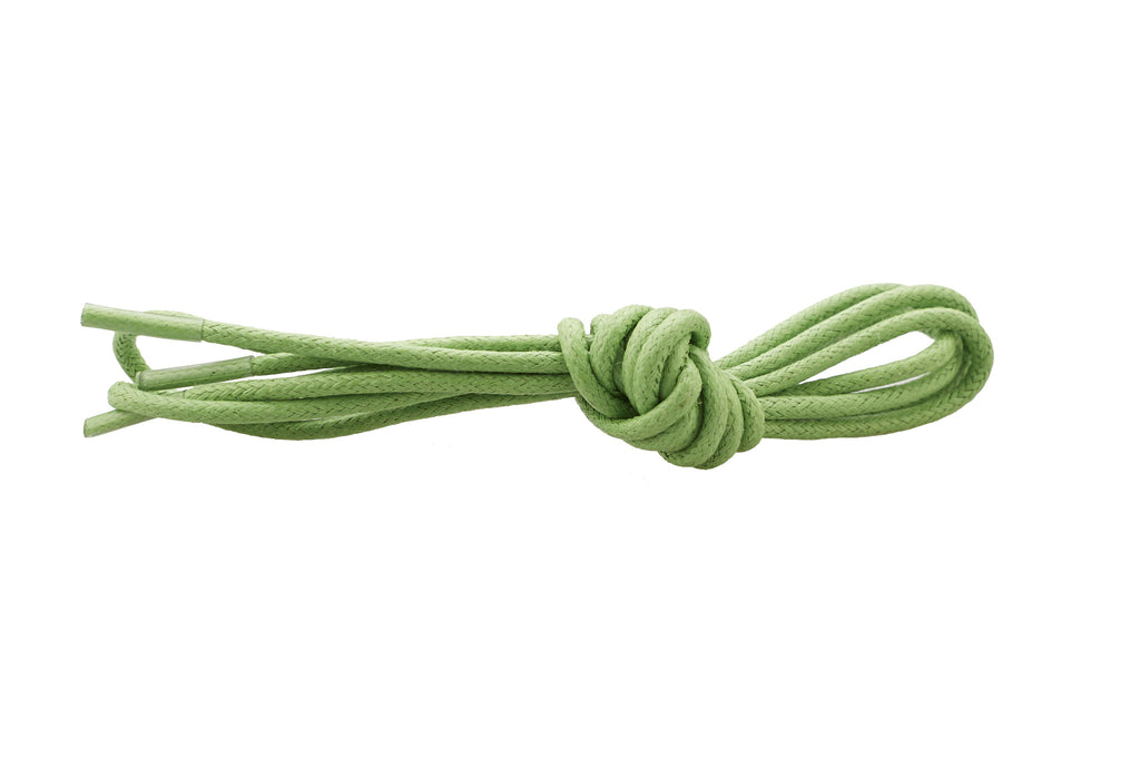 light green shoe laces
