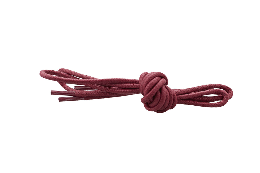 burgundy shoe laces