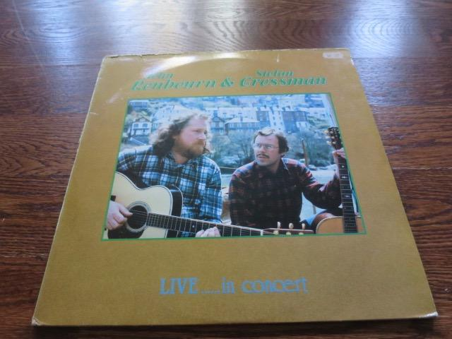 John Renbourn & Stefan Grossman - Live…In Concert - LP UK Vinyl Album Record Cover