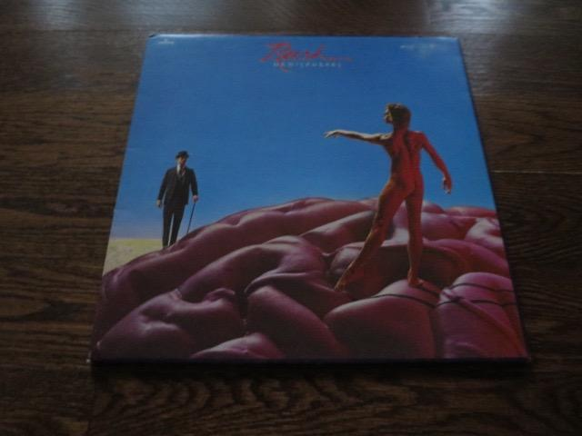 Rush - Hemispheres - LP UK Vinyl Album Record Cover