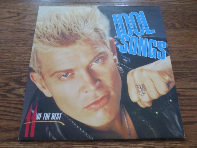 Billy Idol - Songs - 11 Of The Best - LP UK Vinyl Album Record Cover