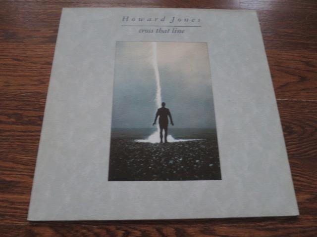 Howard Jones - Cross That Line - LP UK Vinyl Album Record Cover