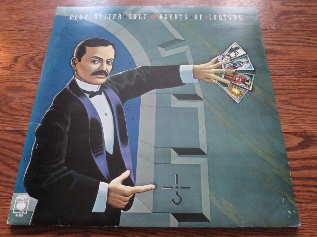 Blue Oyster Cult - Agent Of Fortune - LP UK Vinyl Album Record Cover
