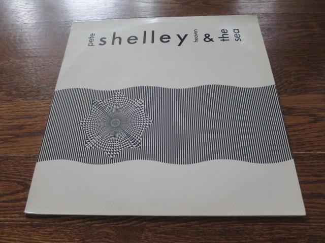 Pete Shelley - Heaven & The Sea - LP UK Vinyl Album Record Cover