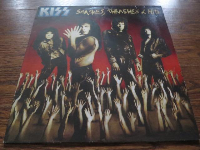 Kiss - Smashes, Thrashes & Hits - LP UK Vinyl Album Record Cover