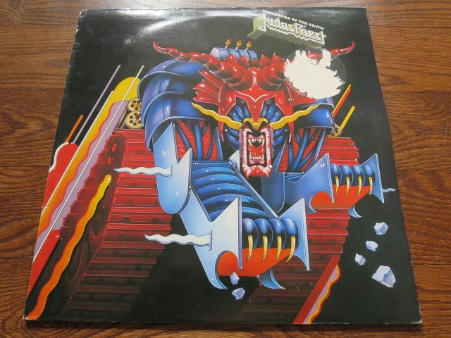 Judas Priest - Defenders Of The Faith - LP UK Vinyl Album Record Cover