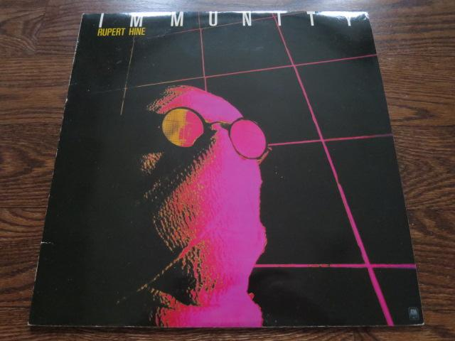 Rupert Hine - Immunity - LP UK Vinyl Album Record Cover