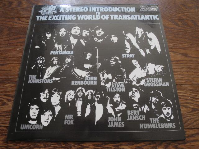 Various Artists - A Stereo Introduction To The Exciting World Of Transatlantic - LP UK Vinyl Album Record Cover