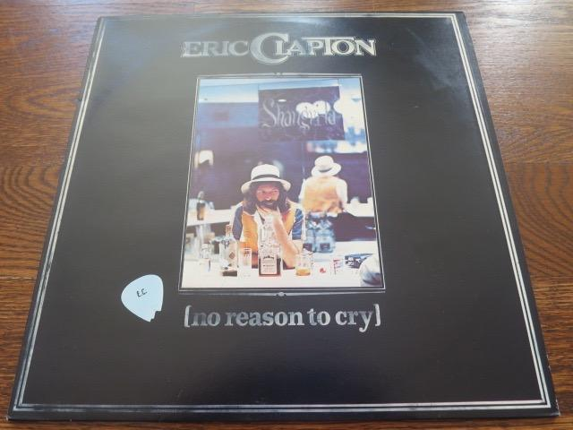 Eric Clapton - No Reason To Cry - LP UK Vinyl Album Record Cover