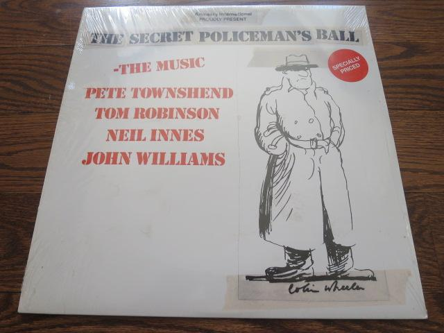 Various Artists - The Secret Policeman's Ball - LP UK Vinyl Album Record Cover