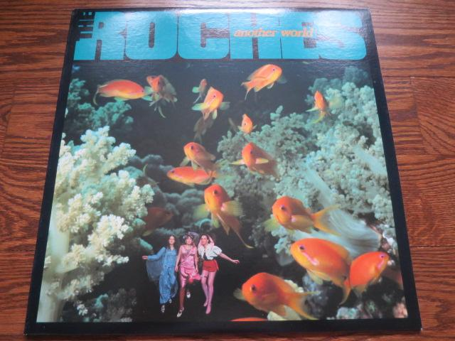 The Roches - Another World - LP UK Vinyl Album Record Cover