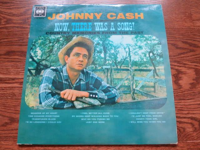 Johnny Cash - Now, There Was A Song! - LP UK Vinyl Album Record Cover