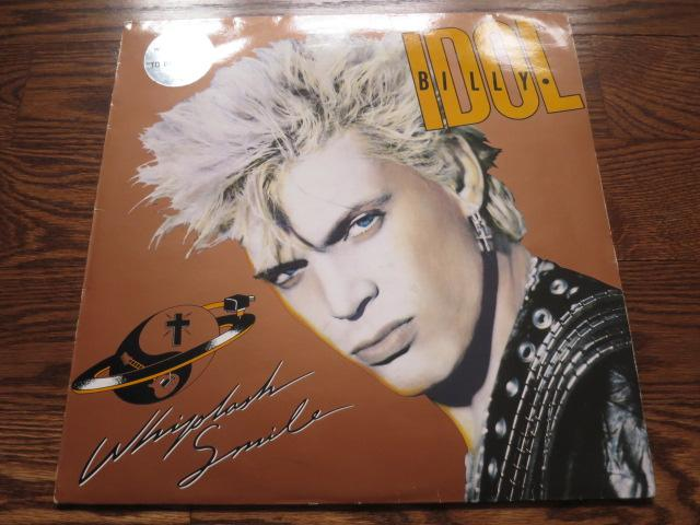 Billy Idol - Whiplash Smile - LP UK Vinyl Album Record Cover