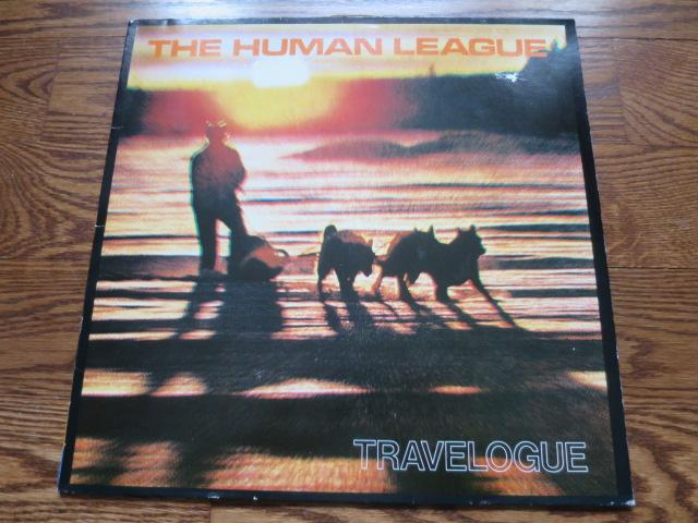 The Human League - Travelogue - LP UK Vinyl Album Record Cover