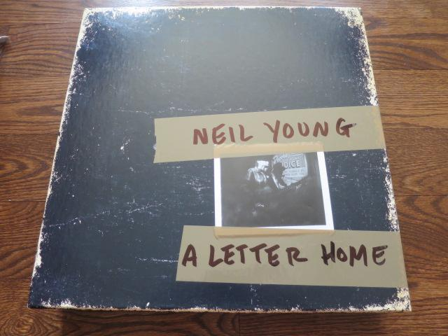 Neil Young - A Letter Home box set - LP UK Vinyl Album Record Cover