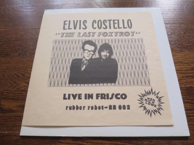 Elvis Costello with Nick Lowe - Live In Frisco - LP UK Vinyl Album Record Cover