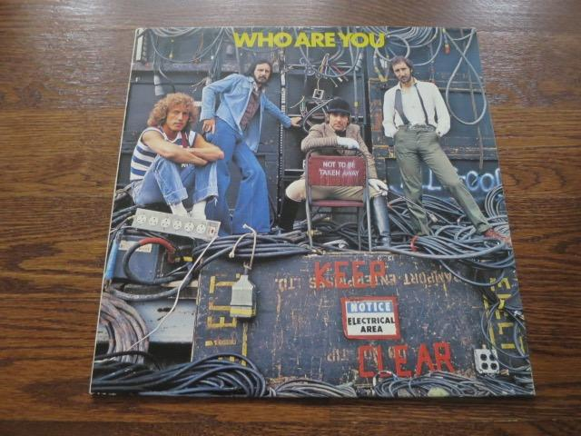 The Who - Who Are You - LP UK Vinyl Album Record Cover