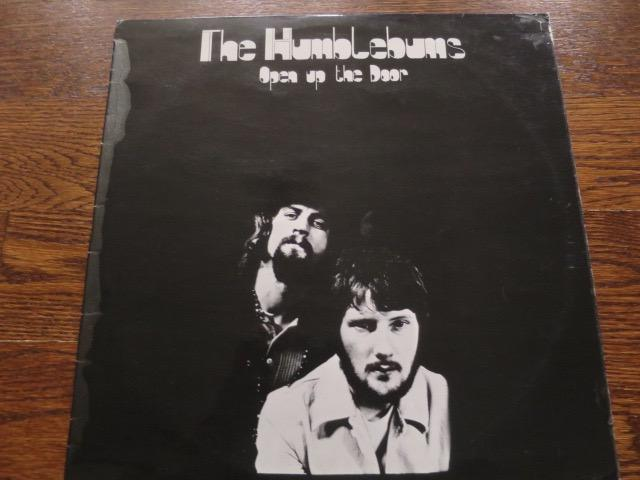 The Humblebums - Open Up The Door - LP UK Vinyl Album Record Cover